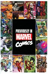 Marvel Comics's Previously in Marvel Comics Recap Guide Issue nn