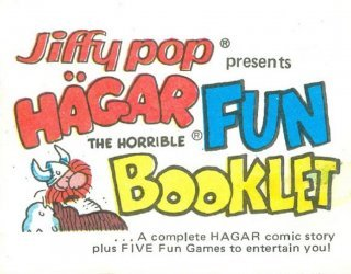 King Features Comics's Jiffy Pop Fun Booklet Issue hagar