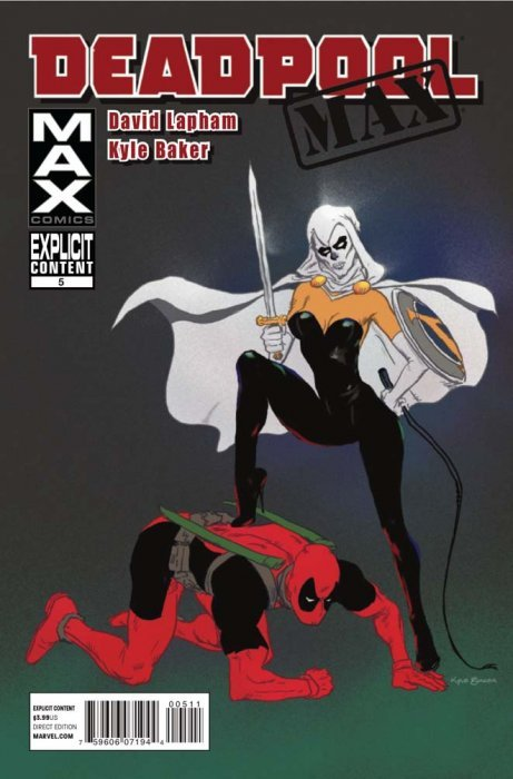 Max Comicss Deadpool MAX Issue 5
