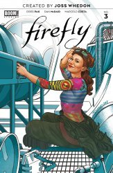 BOOM! Studios's Firefly Issue # 3b