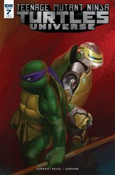IDW Publishing's Teenage Mutant Ninja Turtles Universe Issue # 7c