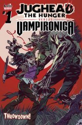 Archie Comics Group's Jughead The Hunger Versus Vampironica Issue # 1
