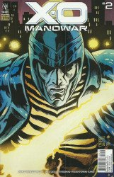 Valiant Entertainment's X-O Manowar Issue # 2c