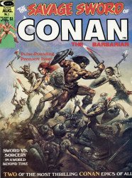 Curtis Comic Inc's The Savage Sword of Conan Issue # 1