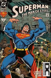 DC Comics's Superman: Man of Steel Issue # 31b