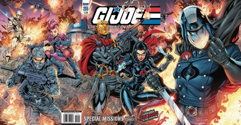 IDW Publishing's G.I. Joe: A Real American Hero Issue # 255