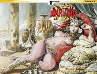 Dynamite Entertainment's John Carter: Warlord of Mars Issue # 1c
