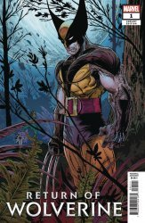 Marvel Comics's Return of Wolverine Issue # 1t