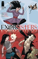 Image Comics's Exorsisters Issue # 5