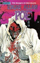 Eternity Comics's Edgar Allan Poe: Masque of Red Death Issue # 1