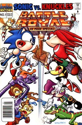 sonic super special issue 1 archie comics group