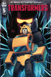 IDW Publishing's Transformers Issue # 5b