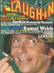 Laufer Publishing Co.'s Laugh-In Magazine Issue # 4