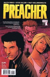 Vertigo's Preacher Issue # 1b