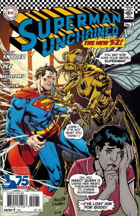 Superman Comic Book White Cover : Superman unchained dc comics comicbookrealm