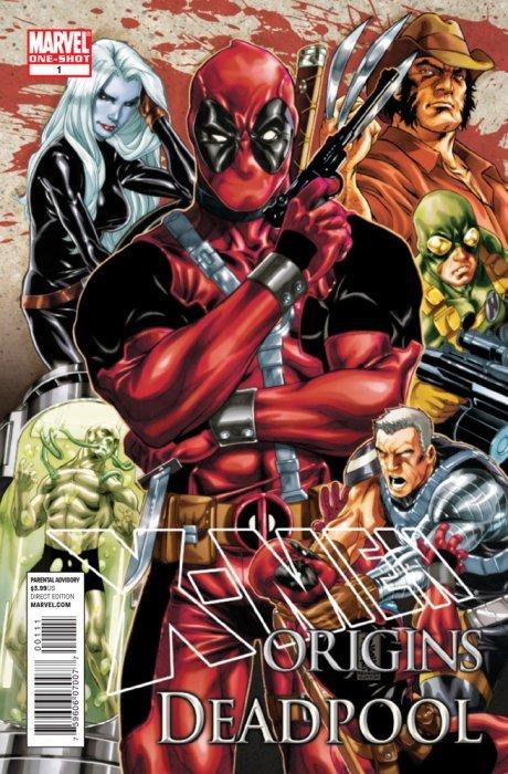 X-Men Origins: Deadpool 1 (Marvel Comics) - ComicBookRealm.com X Men Deadpool Drawings