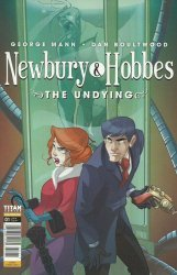 Titan Comics's Newbury & Hobbes: The Undying Issue # 1c