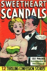 Fox Feature Syndicate's Sweetheart Scandals Giant Size nn