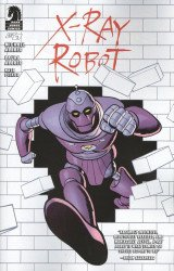 Dark Horse Comics's X-Ray Robot Issue # 3b
