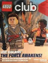 LEGO Systems's LEGO Club Magazine Issue nov/dec 2015