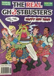 Marvel UK's The Real Ghostbusters Issue # 82