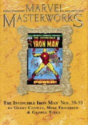 Marvel's Marvel Masterworks: The Invincible Iron Man Hard Cover # 8b