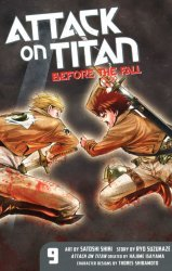 Kodansha Comics's Attack on Titan: Before the Fall Soft Cover # 9