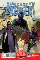 Marvel's Uncanny Avengers Issue # 8au