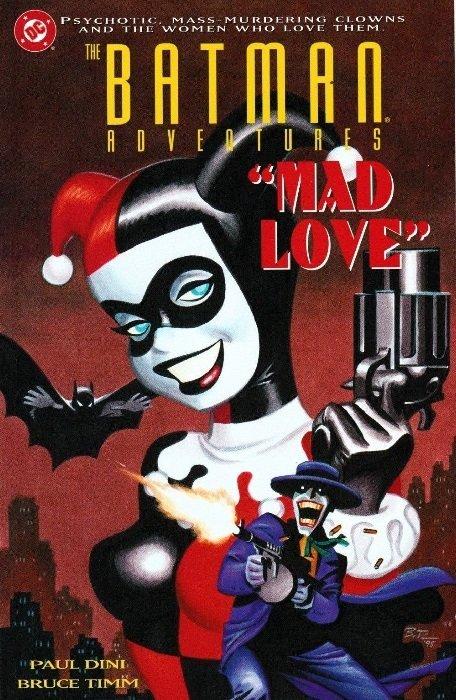 I Love Dc Comics : Batman adventures mad love hard cover dc comics