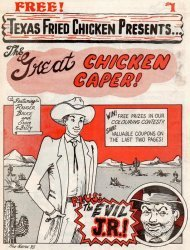 Clark's Chicken Coop's Texas Fried Chicken Presents: The Great Chicken Caper Issue # 1