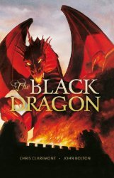 Titan Comics's The Black Dragon Hard Cover # 1