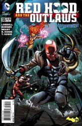 DC Comics's Red Hood and the Outlaws Issue # 35