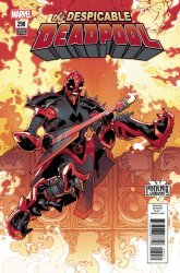 Marvel Comics's The Despicable Deadpool Issue # 290c