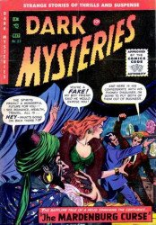 Master Publications's Dark Mysteries Issue # 23