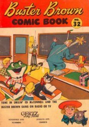Buster Brown Shoes's Buster Brown Comics Issue # 32gertz