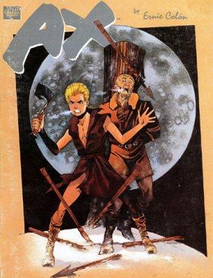 marvel graphic novel ax soft cover 1 marvel comics