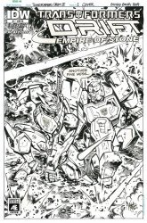 IDW Publishing's Transformers: Drift - The Empire of Stone Issue # 1ri