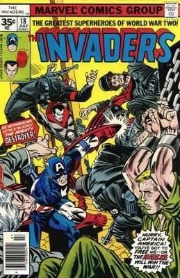 Marvel Comicss The Invaders Issue 18b