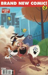 Titan Comics's The Secret Life of Pets Issue # 2