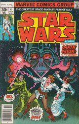 Marvel Comics's Star Wars Issue # 4 - 2nd print