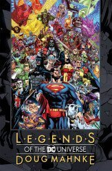DC Comics's Legends Of The DC Universe: Doug Mahnke Hard Cover # 1