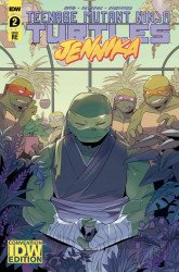 IDW Publishing's Teenage Mutant Ninja Turtles: Jennika Issue # 2wondercon