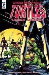 IDW Publishing's Teenage Mutant Ninja Turtles: Urban Legends Issue # 2b