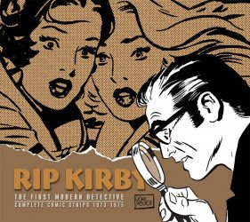 IDW Publishing's Rip Kirby:  The First Modern Detective Hard Cover # 11