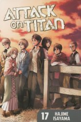 Kodansha Comics's Attack on Titan Soft Cover # 17