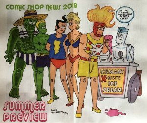 Comic Shop News's Comic Shop News: Previews Issue Summer 2019
