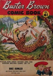Buster Brown Shoes's Buster Brown Comics Issue # 41rike kumler