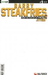 Keenspot Entertainment's Barry Steakfries Issue # 1c