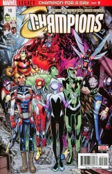 Marvel Comics's Champions Issue # 16