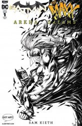 IDW Publishing's Batman / Maxx: Arkham Dreams Issue # 1albert moy-h